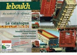Prospectus,doc,pub,catalogue, Ependeurs, Remorques Leboulch - Agriculture