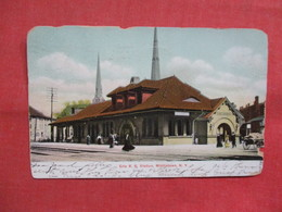 Erie R.R. Station  Middletown    New York   3548 - NY - New York