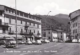 S.MARCELLO PISTOIESE - PISTOIA - PIAZZA MATTEOTTI - BAR CON INSEGNA PUBBLICITARIA BIRRA CERVISIA - AUTO - Pistoia