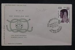 INDE - Enveloppe FDC En 1970 - Scoutisme - L 38893 - FDC