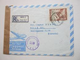 1952 ,  250 F. , Einschreiben Aus Haifa - Israel