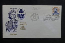 CANADA - Enveloppe FDC En 1960 - Scoutisme - L 38898 - 1952-1960