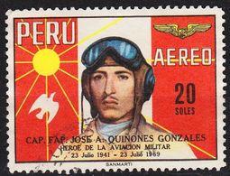 PERU [1969] MiNr 0728 ( O/used ) Flugzeug - Peru