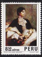 PERU [1973] MiNr 0911 ( **/mnh ) Gemälde - Peru