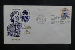 CANADA - Enveloppe FDC En 1960 - Scoutisme - L 38899 - 1952-1960