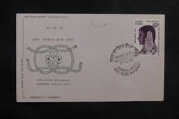INDE - Enveloppe FDC En 1970 - Scoutisme - L 38907 - FDC