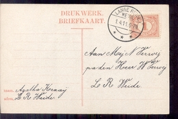Lange Ruige Weide - Langebalk - 1911 - Pays-Bas