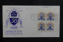 CANADA - Enveloppe FDC En 1960 - Scoutisme - L 38910 - 1952-1960