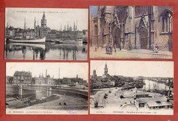 59 - Dunkerque : Lot De 10 Cpa Différentes Et Scannées - Dunkerque