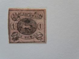 LOT De 4 Timbres Anciens Etats Allemands - Brunswick - Bade - Sachsen - Bayern - Alemania