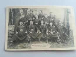 CPA MILITARIA - Un Groupe De Chacals Du 1er Zouaves (f) - Militaria