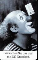 ! Telefonkarte, Telecarte, Phonecard, 1995, S PD, Clown, Germany - Germany
