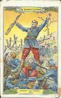 Chromo CHICOREE EXTRA DANIEL VOELCKER-COUMES - LA GRANDE GUERRE - Debout Les Morts ! 1914. - Chromos