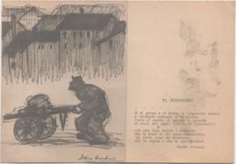 Cartolina Dedicata Al Cenciaiuolo (strassaro In Dialetto Veneto). Edizioni Chiovato, Vicenza. Non Viaggiata - Paysans