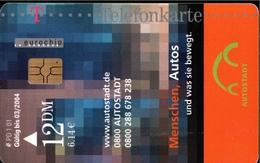 ! Telefonkarte, Telecarte, Phonecard, 2001, PD1, Autostadt, Germany - Deutschland