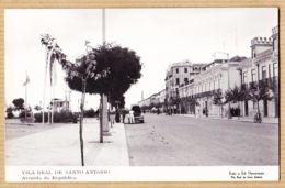 Portu052 Peu Commun VILA REAL DE SANTO ANTONIO Posto De Gasolina Avenida Républica Portugal Foto HAVAFaro Algarve 1950s - Faro