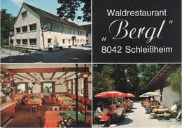 AK Schleißheim Waldrestaurant Bergl A Oberschleißheim Unterschleißheim Lustheim Lohhof Garching Ismaning Dachau München - Oberschleissheim