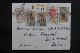 CAMEROUN - Enveloppe En Recommandé De Garoua Pour La France En 1966, Affranchissement Plaisant - L 38926 - Camerun (1960-...)