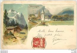 SUISSE. Meiringen 1916 (défauts) - Svizzera