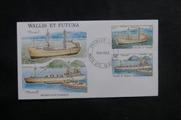 WALLIS ET FUTUNA - Enveloppe FDC En 1990 - Navires  - L 38930 - FDC