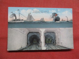 Penn R.R. Station Under The Hudson River     - New York > New York City >   3548 - Brooklyn