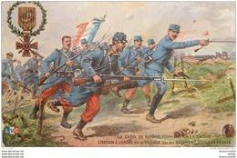 """WW MILITAIRES. Légion D'Honneur Publicité """" Bourgougnan """" Citation Ordre De La Brigade Ou Régiment - Patriottiche"""