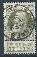 75 Oblitéré TRONCHIENNES - 1905 Grosse Barbe