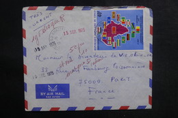 CONGO - Enveloppe De Brazzaville Pour La France En 1975, Affranchissement Plaisant  - L 38937 - Congo - Brazzaville