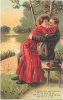 W4286 Coppie Coppia Couple Paar Pareja Pair - Illustrazione Illustration - Riproduzione? / Non Viaggiata - Coppie