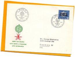 Switzerland 1962 FDC - Officials
