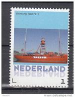 Nederland 2015 Persoonlijke Zegel: Lighthouse, Vuurtoren: Lichtschip Texel , Lightschip - Fari