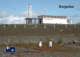 Kerguelen Islands Notre-Dame Des Vents Church TAAF New Postcard Antarktis AK - TAAF : Franz. Süd- Und Antarktisgebiete