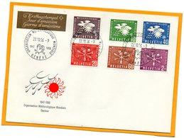 Switzerland 1956 FDC - Officials