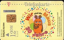 ! Telefonkarte, Telecarte, Phonecard, 2001, S PD2, Sendung Mit Der Maus, Germany - P & PD-Series : D. Telekom Till