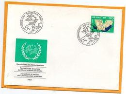 Switzerland 1983 FDC - Officials