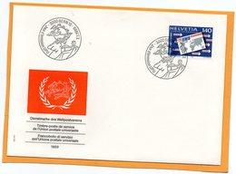 Switzerland 1989 FDC - Officials