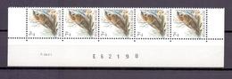 2347 Ringmus DATUMSTRIP 9VIII91 POSTFRIS** A49 - 1985-.. Oiseaux (Buzin)