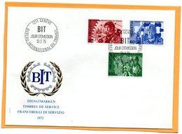 Switzerland 1975 FDC - Officials