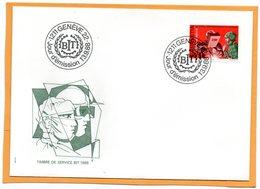 Switzerland 1988 FDC - Officials