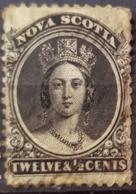 NOVA SCOTIA 1860 - Canceled - SG17 - 12.5c - Unused Stamps