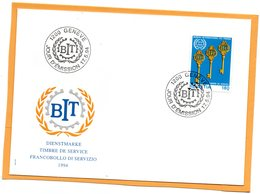 Switzerland 1994 FDC - Officials