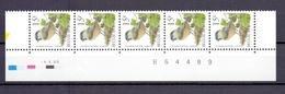2695 MATKOP DATUMSTRIP 4II98 POSTFRIS** A27 - 1985-.. Oiseaux (Buzin)