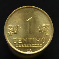 Peru 1 Céntimo 2002, South America. UNC Coin, There Are Rust Spots. - Peru