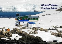 Antarctica Livingston Island Shirreff Base United States New Postcard Antarktis AK - Ansichtskarten