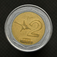 Peru Coin 2 Nuevos Soles, Km313. South America. Bimetallic Circulated - Pérou