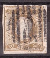 Portugal - 1866/67 - N° 20 - Louis 1er - Oblitérés