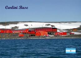 Antarctica Carlini Base Jubany Argentina New Postcard Antarktis AK - Altri