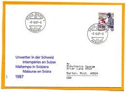 Switzerland 1987 FDC - Officials