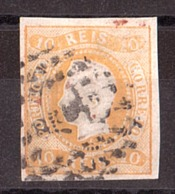 Portugal - 1866/67 - N° 19 - Louis 1er - Oblitérés