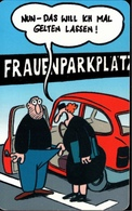 ! Telefonkarte, Telecarte, Phonecard, 2000, PD14, Humor, Frauenparkplatz, Germany - Allemagne
